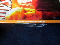 Note of 2020 Preview Issue on Spine of Starburst Magazine #468: 2020 Preview Issue Collectors? Edition
