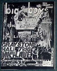 1983-09-02 Graystone Hall, Detroit, MI
