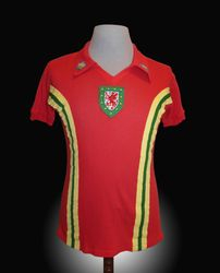 Admiral Match Worn Wales Malcome Page Shirt