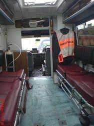 1980s Ambulance interior