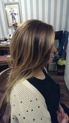 Ombre Balayage After