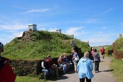 Rebuilt Viking dwelling at L'Ance Aux Meadows