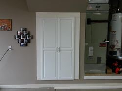 custom cabinet door and face