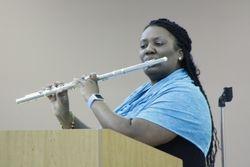 Guest Flutist Ms. Derrica Williams