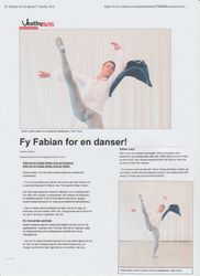Fy Fabian for en danser!