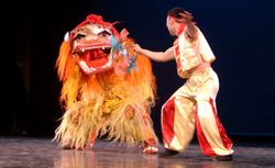 CHINES DRAGON DANCE