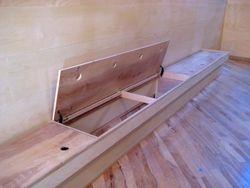 Bench storage