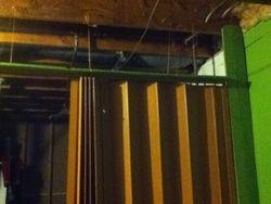 Hung doors