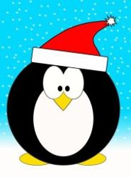 Penguin Apocalypse Holiday Logo