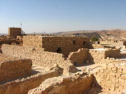 On Top of Masada