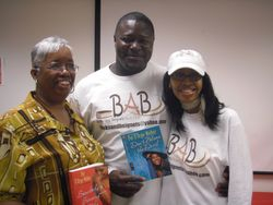 Mr. & Mrs. BAB with the Author
