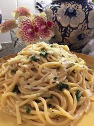 Spring Pasta with Basil