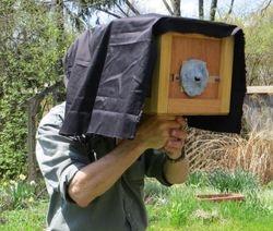 Mind's eye box  camera obscura