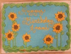 Sunflower Cake (1)