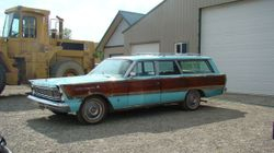 """5.SUPER RARE 65 Country Squire """"woody"""" Wagon."""