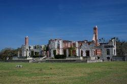 Dungeness ruins on Cumberland Island