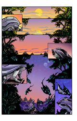 Nightglimmers page.1 colors