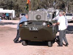 A Small Anthibian Vehicle