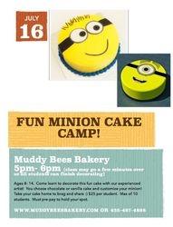 July 16 Cake Class
