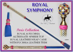 Royal Symphony Paris Cane