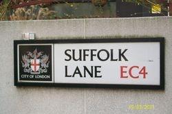 Suffolk Lane EC4