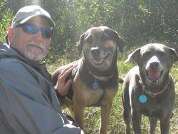 Wayne, Rex and Misty