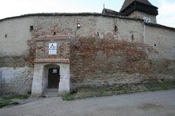 Ingang van de weermeer, Entrance of the wall