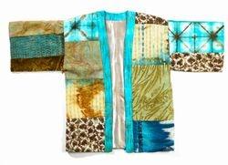 Blue Kimono Jacket