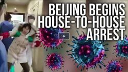 SHOCK VIDEO! Beijing Begins Massive House To House Arrest Of Suspected Corona Carriers