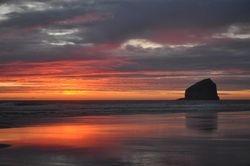 Haystack Sunset 3