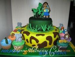 CC7 -Jungle Animals Cupcakes