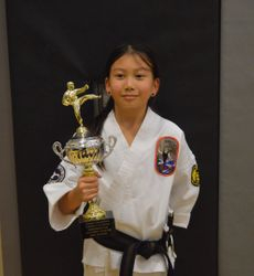 Grand Champion Youth 12 & Under Weapons/Kata