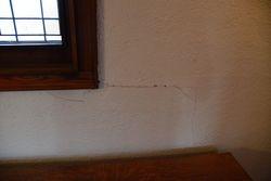 Wall cracks  - Room 1