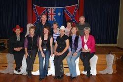 Judy, Linda, Karen, Brian and friends