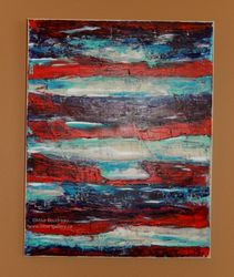 Red, White & Blue, 14x11 $125