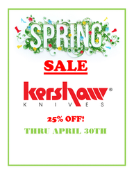 Spring Knife Sale