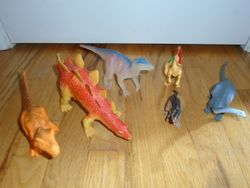 Assorted Dinosaur Toy Figures - 6 - $5