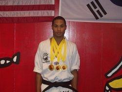 Quan  Gordon 06-05-2011 Championship 1st pl weapons 1st pl forms 1st pl breaking