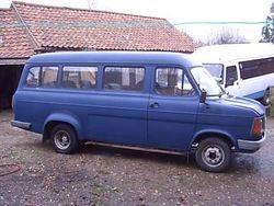 1980s Transit Crewbus 15 seater