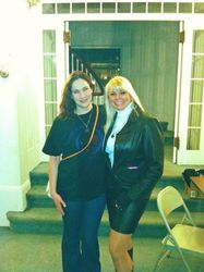 The queen of the paranormal & Julie Rose