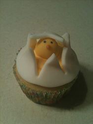 The Hatching Egg Cupcake
