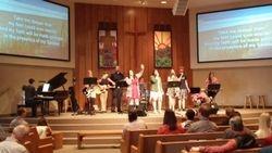 Teens Leading in Worship