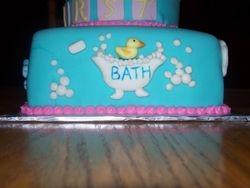Babys first Bath cake