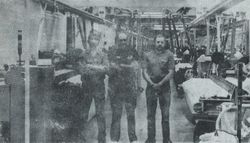 Sloan Plant workers