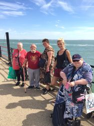 OUR DAY IN THE SUN AT SOUTHEND