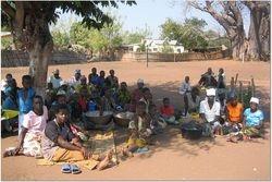 food distribution to Kuwangisana clients