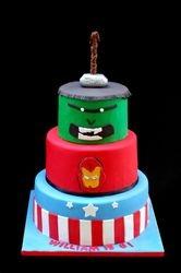 Marvel Avengers Cake