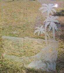 Palm Tree Shower Doors