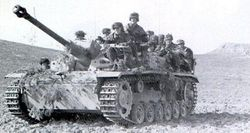 StuG III G, No skirts, used for a ride:
