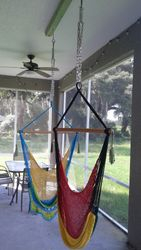 Hammocks from ceiling